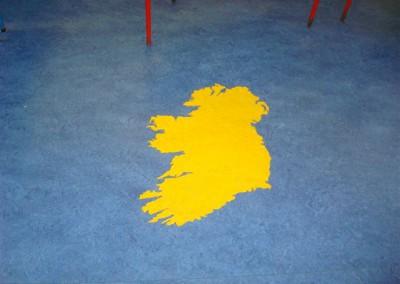 Gerry Cronolly unique flooring for schools