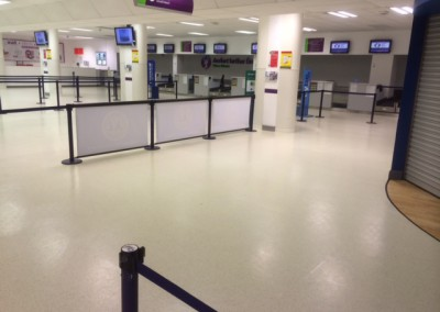 Industrial Flooring at Ireland Airport West