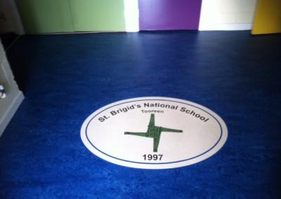 Personalised School Flooring
