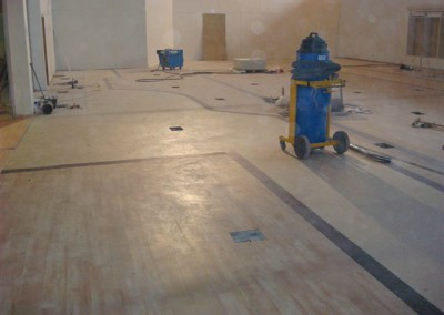 We use top of the range equipment and flooring at Gerry Cronolly Flooring